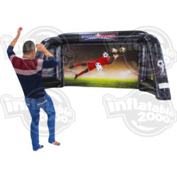 inflatable game sticky soccer sports themed inflatable game