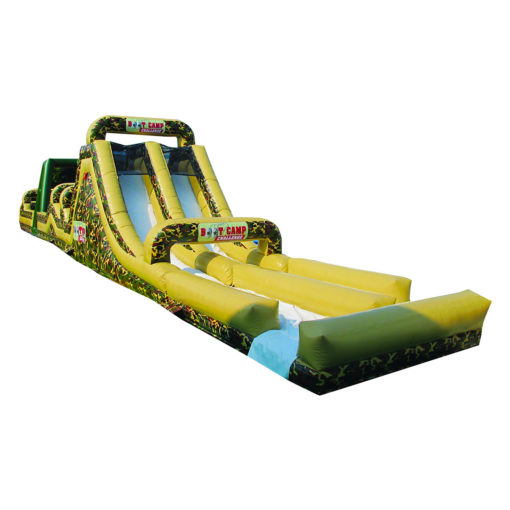 inflatable obstacle course boot camp aqua extension