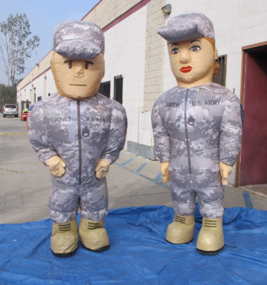 inflatable US army costumes for adults army7