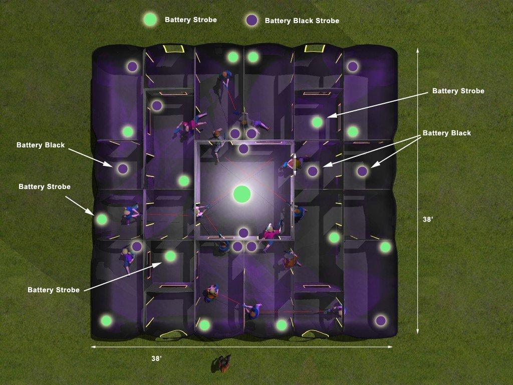 Xtreme Laser Tag 30'