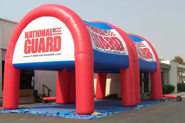inflatable tent national guard custom made for advertising